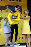 Christopher Froome Equipe Team Sky  Tour de France 2015 Royalty Free Stock Photo