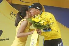 Christopher Froome Equipe Team Sky  Tour de France 2015 Stock Photos