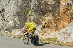 Christopher Froome, Individual Time Trial - Tour de France 2016 Royalty Free Stock Photo