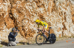 Christopher Froome, Individual Time Trial - Tour de France 2016 Stock Photo