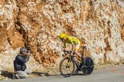 Christopher Froome, procès individuel de temps - Tour de France 2016 photo stock