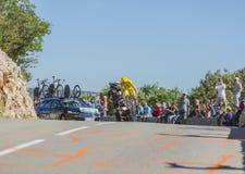 Christopher Froome, procès individuel de temps - Tour de France 2016 images libres de droits
