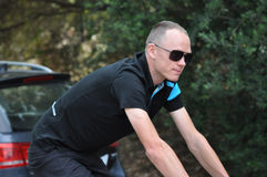 Christopher Froome, Sky Royalty Free Stock Photos