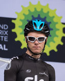Christopher Froome at the team presentation before second leg of Royalty Free Stock Photography
