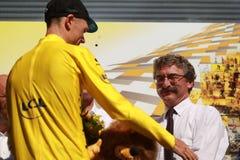 Christopher Froome Team Sky Tour de France 2015 Stock Image