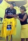 Christopher Froome Team Sky Tour de France 2015 Royalty Free Stock Photography