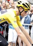 Christopher Froome Team Sky Tour de France 2015 Royalty Free Stock Photo