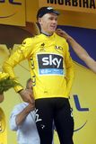 Christopher Froome Team Sky Tour de France 2015 Royalty Free Stock Image