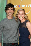 Christopher Gorham,Piper Perabo. Christopher Gorham and Piper Perabo  at the NBC Summer Press Tour Party, Beverly Hilton Hotel, Beverly Hills, CA. 07-30-10 Royalty Free Stock Image