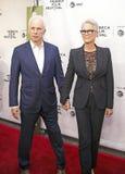 Christopher Guest y Jamie Lee Curtis en el 35to aniversario de ESTO ES PUNCI?N LUMBAR en el festival de cine 2019 de Tribeca imagenes de archivo