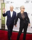 Christopher Guest y Jamie Lee Curtis en el 35to aniversario de ESTO ES PUNCI?N LUMBAR en el festival de cine 2019 de Tribeca fotografía de archivo