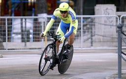 Christopher Juul Team Tinkoff - Saxo Stock Image