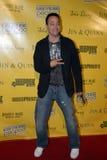 Christopher Kid Reid op het rode tapijt. stock fotografie