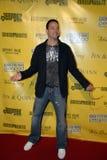 Christopher Kid Reid op het rode tapijt. royalty-vrije stock foto