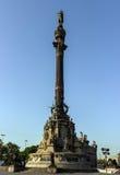 Christopher Kolumb kolumna Obrazy Stock