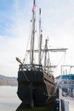Christopher Kolumb statek Nina Fotografia Royalty Free