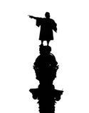 Christopher Kolumb statua. Barcelona punkt zwrotny, Hiszpania. Fotografia Royalty Free