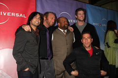 Christopher Lawrence, Mark Christopher, Scott Krinsky, Vik Sahay, Zachary Levi Royalty Free Stock Images