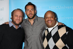 Christopher Lawrence, Mark Christopher, Scott Krinsky, Zachary Levi Stock Images