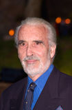 Christopher Lee Photo libre de droits
