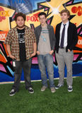 Christopher Mintz,   Jonah Hill, Michael Cera Royalty Free Stock Photos