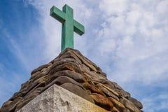 Christopher Newport Cross Stock Foto