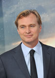 Christopher Nolan. LOS ANGELES, CA - OCTOBER 26, 2014: Director Christopher Nolan at the Los Angeles premiere of his movie Interstellar at the TCL Chinese royalty free stock images