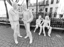 Christopher Park. Gay Liberation Monument by American artist George Segal Royalty Free Stock Photos