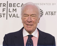 Christopher Plummer at 2017 Tribeca Film Festival Premiere of `The Exception.`. Celebrated Canadian actor Christopher Plummer arrives for the 2017 Tribeca Stock Photo