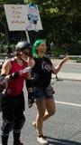 Christopher Street Day à Berlin l'allemagne Images libres de droits