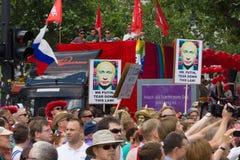 Christopher Street Day in Berlijn duitsland Royalty-vrije Stock Afbeeldingen
