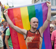 Christopher Street Day in Berlin. Germany. Royalty Free Stock Photo