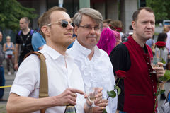 Christopher Street Day in Berlin. Germany. Royalty Free Stock Photos