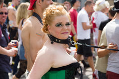 Christopher Street Day in Berlin. Germany. Stock Images