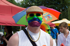Christopher Street Day in Berlin. Germany. Stock Image