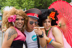 Christopher Street Day in Berlin. Germany. Stock Photo