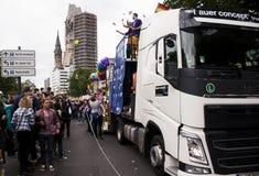 Christopher Street Day a Berlino Fotografie Stock