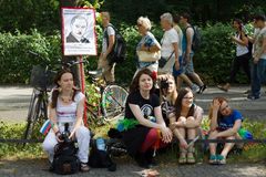 Christopher Street Day en Berlín alemania Imagen de archivo