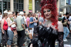 Christopher Street Day July 5, 2009 in Cologne Stock Image