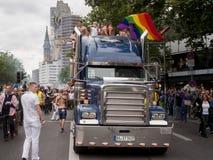 Christopher Street Day Parade à Berlin images libres de droits