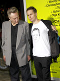 Christopher Walken and Sam Rockwell Stock Images