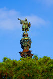 Christophorus Columbus Monument, Barcelona Stock Photography