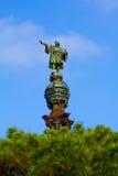 Christophorus Columbus Monument, Barcelona stock photography