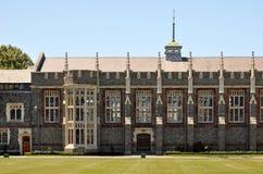 Christs Hochschule speisender Hall, Christchurch Lizenzfreie Stockfotos