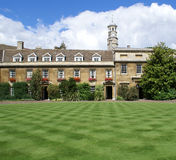 Christs Hochschule, Universität von Cambridge Lizenzfreies Stockfoto