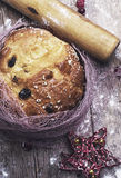 Christs passover. Homemade cakes of the dough Stock Image