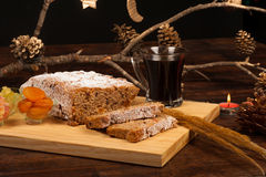 Christstollen Stock Photo