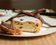 Christstollen Royalty Free Stock Photography