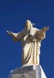 christus耶稣雕象 库存照片