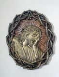 Christus bekroonde met doornen royalty-vrije stock afbeelding